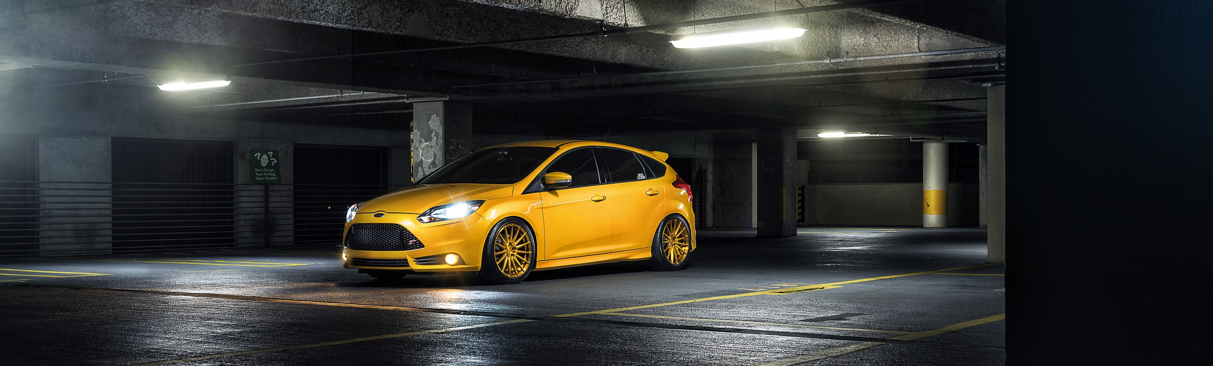 Ford Focus ST Exhaust